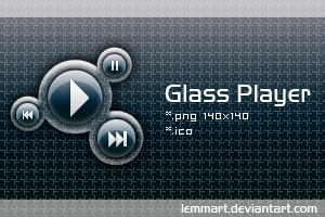 Glass Player by Lemmart