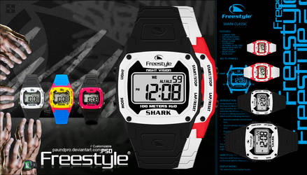 FREESTYLE SHARK CLOCK Watches