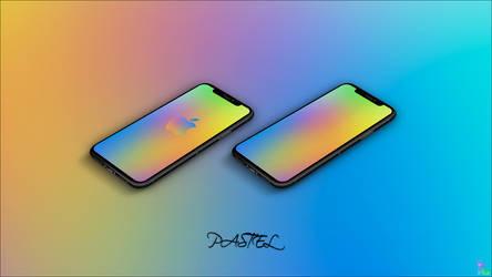 Pastel iPhone X