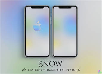 Snow V2 iPhone X by iBidule