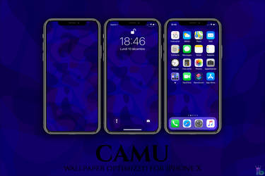 CAMU iPhone X by iBidule