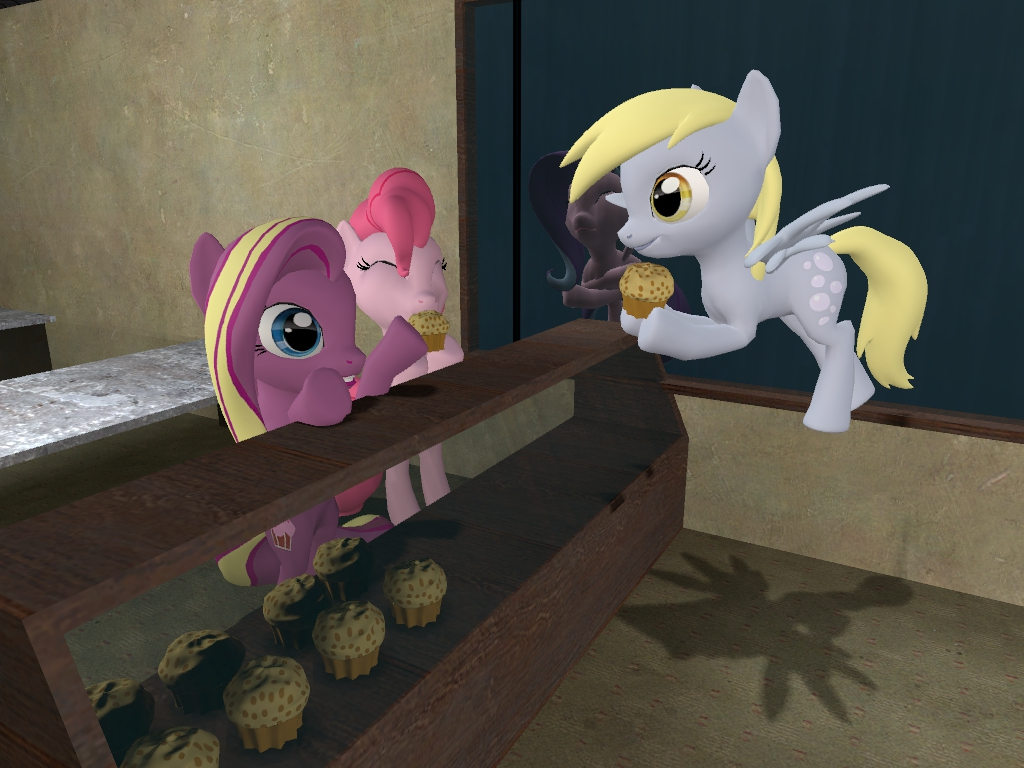 Cupcake Download (pony) by Glaber
