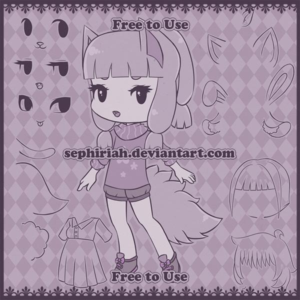 Base 02 [Free to Use] by Sephiriah