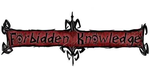 Font: Forbidden Knowledge by MF99K