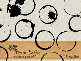52 Tea or Coffee Brushes by Annualize