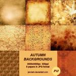 8 Autumn Backgrounds-JC