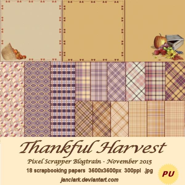 Thankful Harvest - PS1511bt - JanClark by janclark