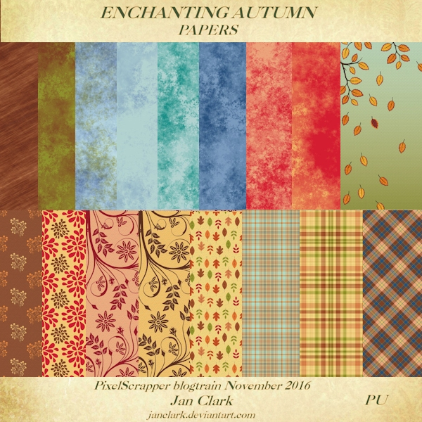 Enchanting Autumn - Papers by janclark