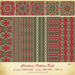 Christmas Pattern Pack by janclark
