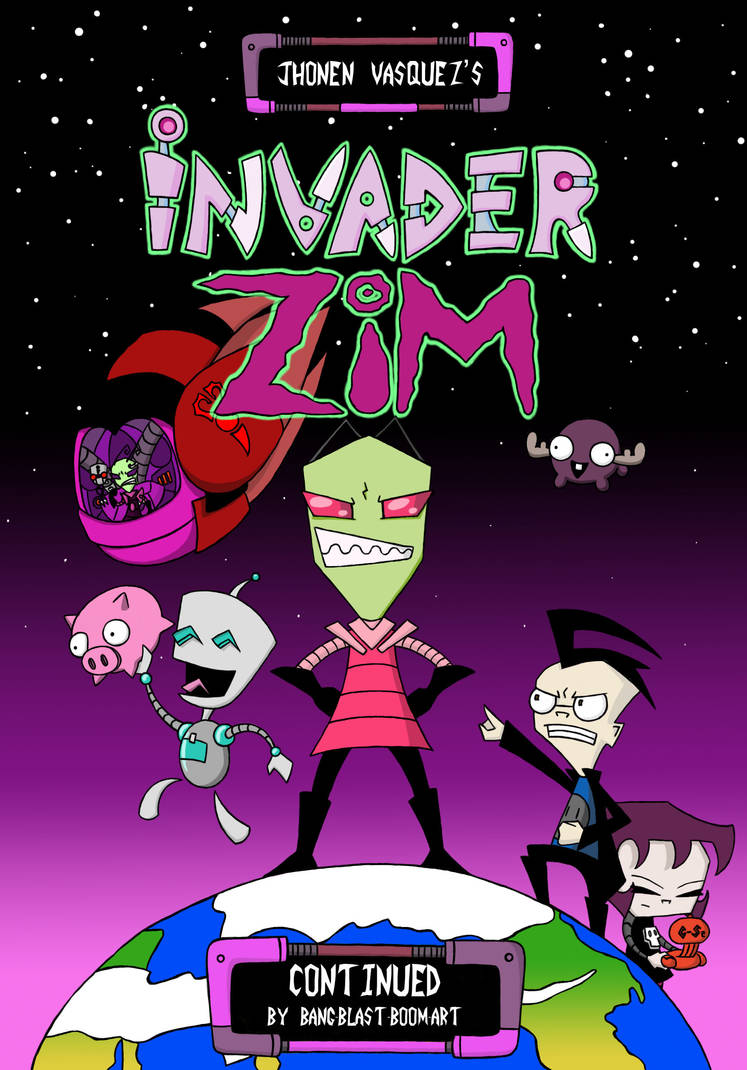 Invader Zim Continued : Cover