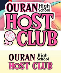 ID: Ouran Host Club font + Style (Anime)