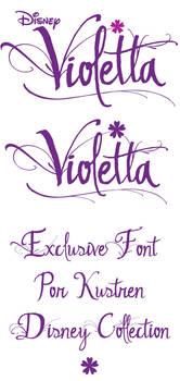 Violetta font Ver. 3 - PROXIMAMENTE...