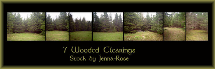 Wooded Clearings Stock Pack