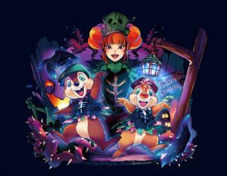 Tokyo Disney Land Spooky Boo! Parade by Umintsu