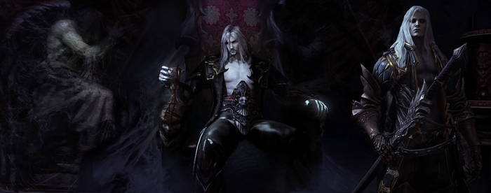 Castlevania: Lords Of Shadow 2 .- ALUCARD and Drac