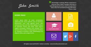 Web interface - portfolio