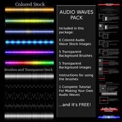Audio Waves Pack by Ruloradio