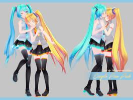 Couple Pose Pack 2 [Download] by Fujiwara-no-Moko