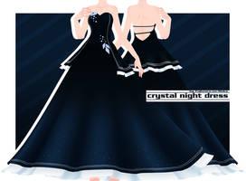 Crystal Night Dress [Download] by Fujiwara-no-Moko