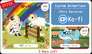 Custom Animations - offer by Revival-Yang