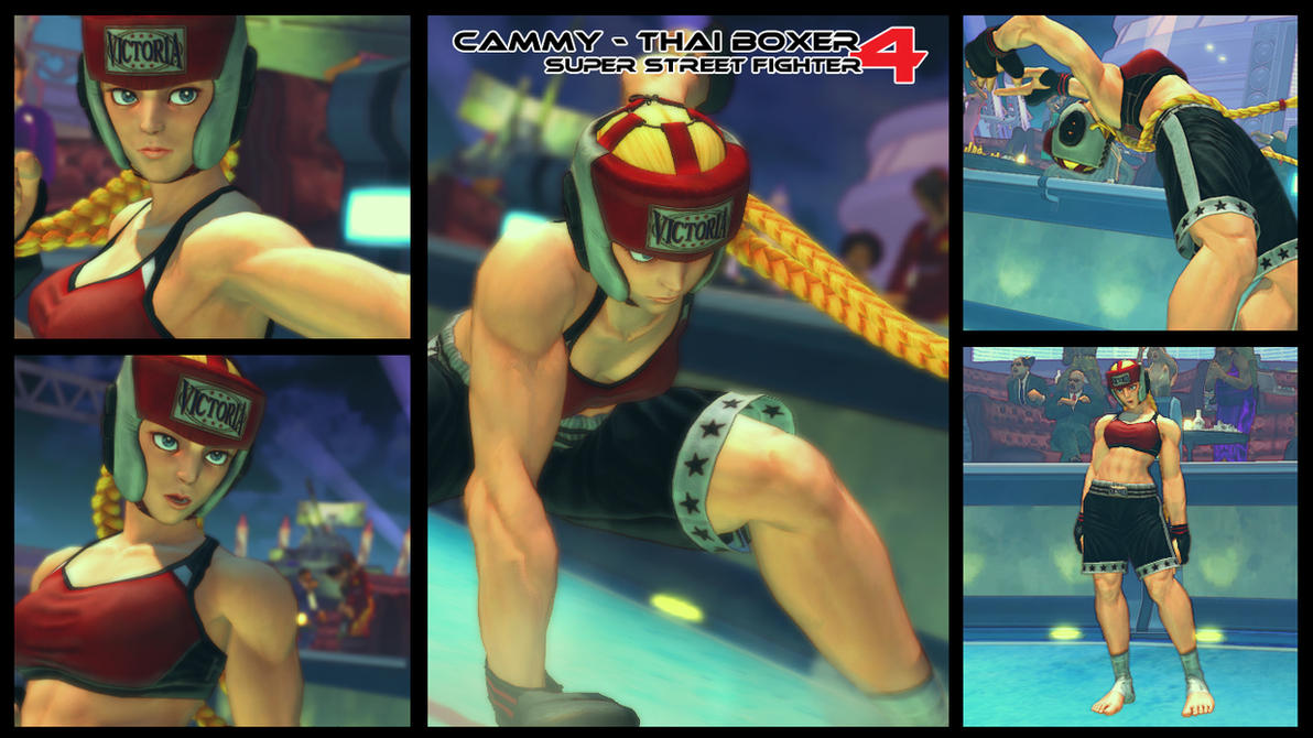 SSFIV-AE: CAMMY THAI BOXER by Ayiep27