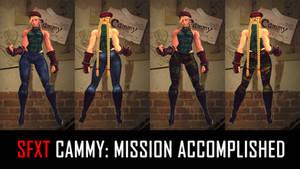 SFXT Cammy: Mission Accomplished