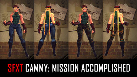SFXT Cammy: Mission Accomplished by Ayiep27