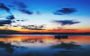Sunset over Dennmark wallpaper by Jaa-c