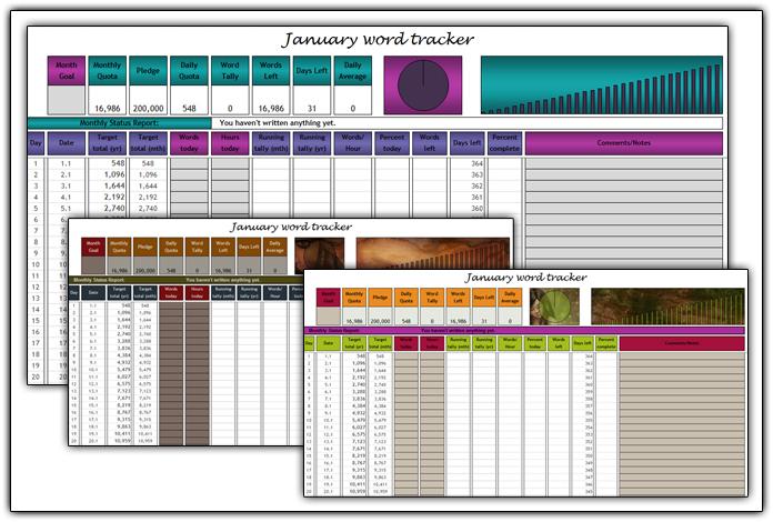 Word Tracker 2012