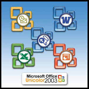 MS Office 2003 Unicolor