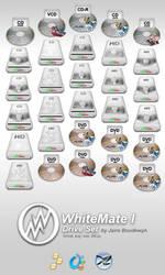 Whitemate I - Driveset by weboso