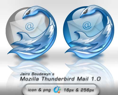 Mozilla ThunderBird Mail 1 by weboso