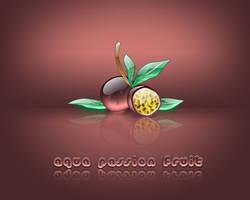 Aqua Passion Fruit - Parchita by weboso