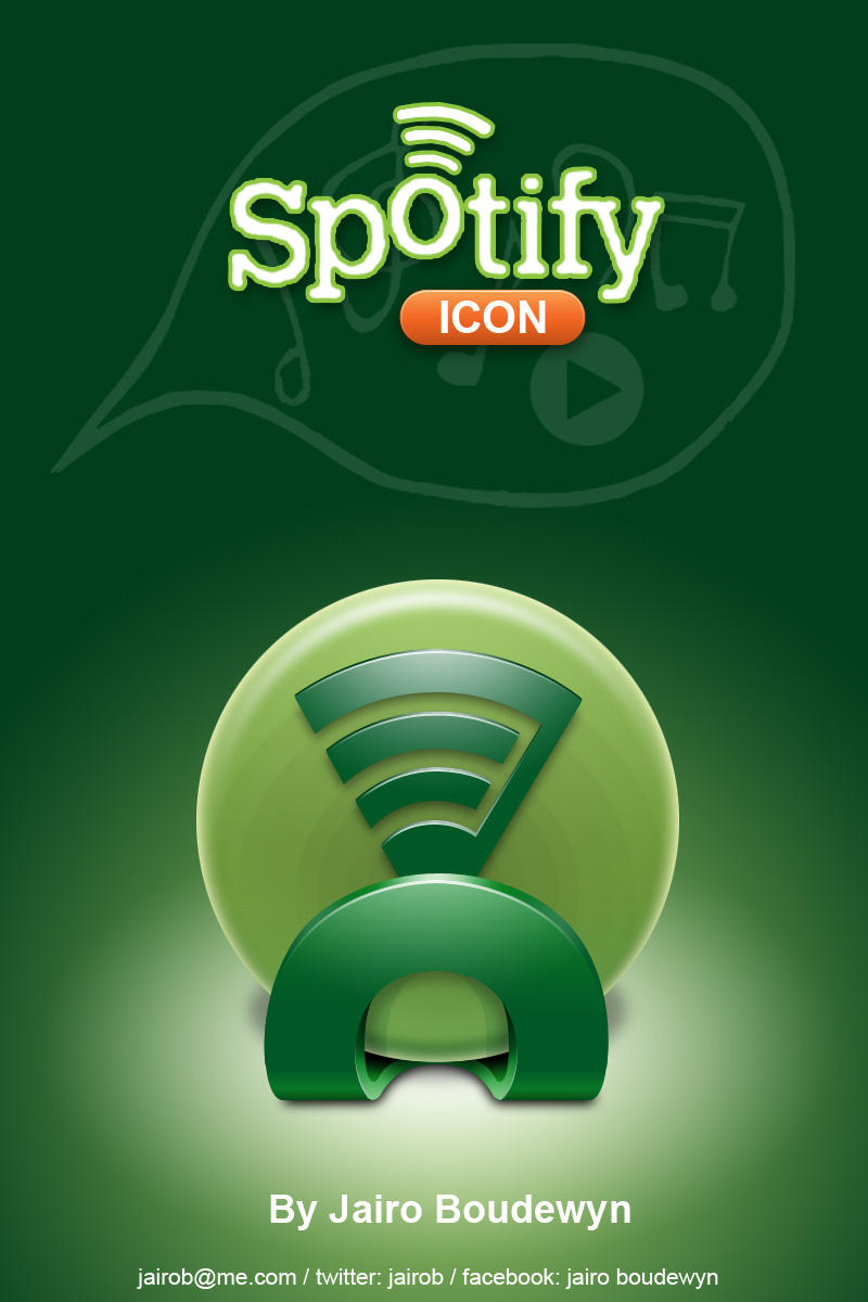 Spotify Icon by weboso