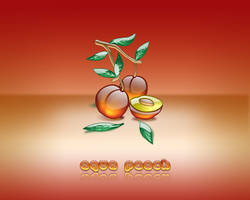 Aqua Peach by weboso
