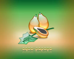 Aqua Papaya by weboso