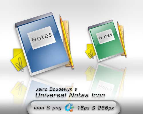 Universal Notes Icon by weboso