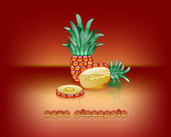 Aqua PineApple by weboso