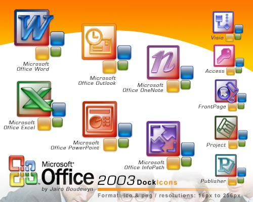 ms office 2003 icons 2 0 by weboso on deviantart