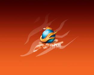 FireFOX 2005 wallpaper by weboso