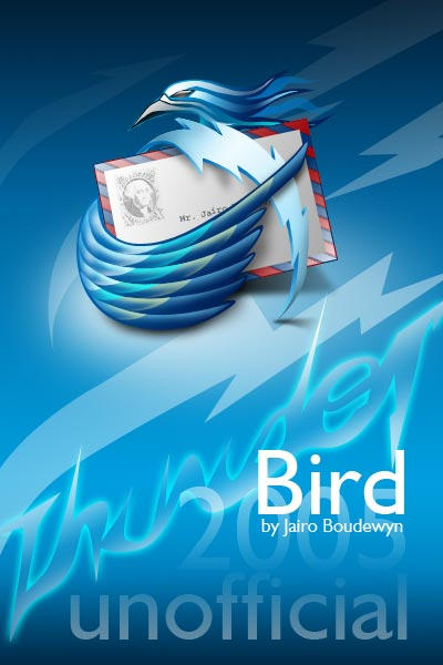 ThunderBIRD 2005 icons by weboso
