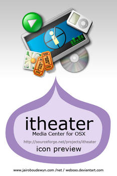 itheater Media Center for OSX by weboso