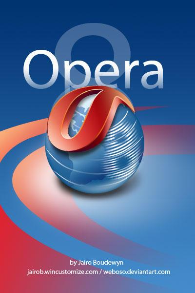 Opera 8 Icons 2.0 by weboso