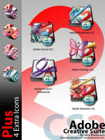 Adobe Creative Suite 2 icons by weboso