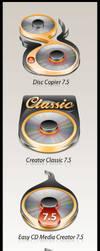 Easy CD Media Creator 7.5 by weboso