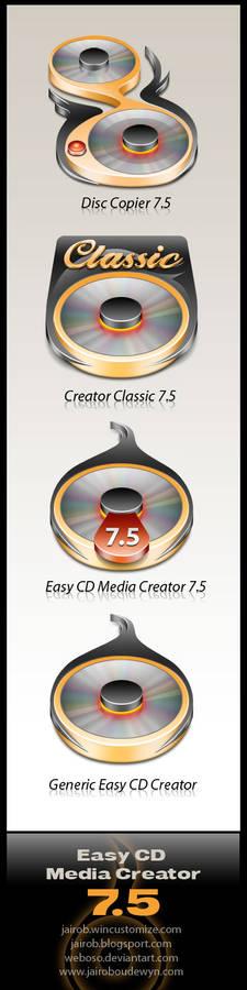 Easy CD Media Creator 7.5