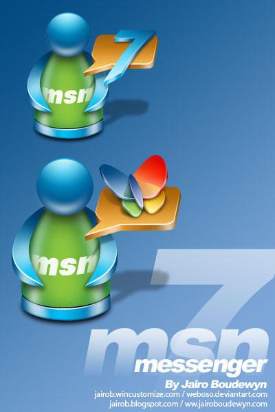 MSN Messenger 7.0 by weboso