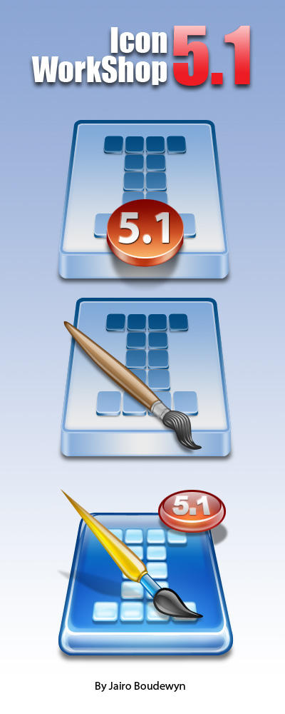 Icon Workshop 5.10 Icons by weboso