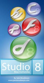 Macromedia Studio 8 Icons