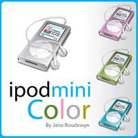 Ipod Mini Color Icon by weboso